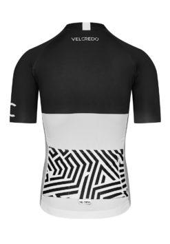 VELcredo 20180828 bialo czarna meskie bk 247x354 - Koszulka kolarska męska ULTRANERO