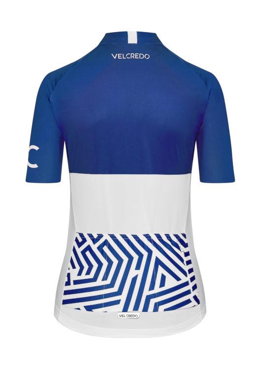 VELcredo 20180828 bialo niebieska damska bk 520x786 - Koszulka kolarska damska ULTRABLUE