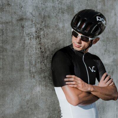 koszulka kolarska męska ultranero Velcredo
