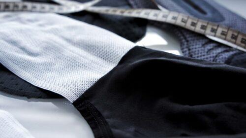 spodenki kolarskie Velcredo z nowymi szelkami produkcja odzieży