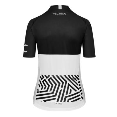 Koszulka kolarska damska Ultranero Velcredo tyl