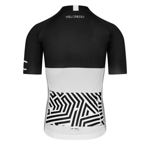 Koszulka kolarska meska Ultranero Velcredo tyl