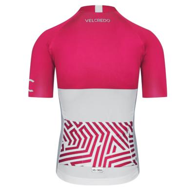 Koszulka rowerowa koszulka kolarska ultrarubine velcredo VC tyl