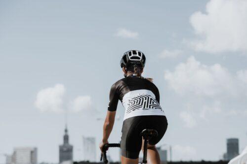 Spodenki i koszulka rowerowa dla niej