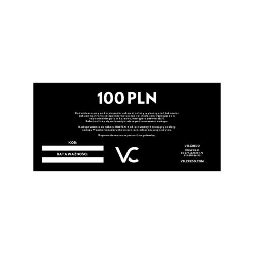 VOUCHER 100 PLN VELCREDO