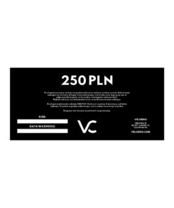 VOUCHER 250 PLN VELCREDO