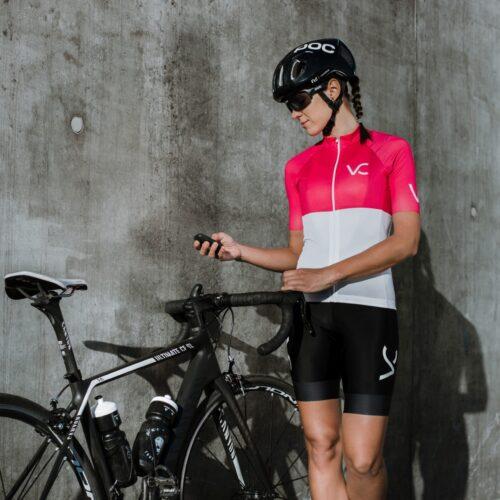 Koszulka kolarska damska Ultrarubine Velcredo