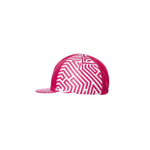czapka z daszkiem Rubine Velcredo 520x520 - Czapeczka kolarska damska ULTRARUBINE