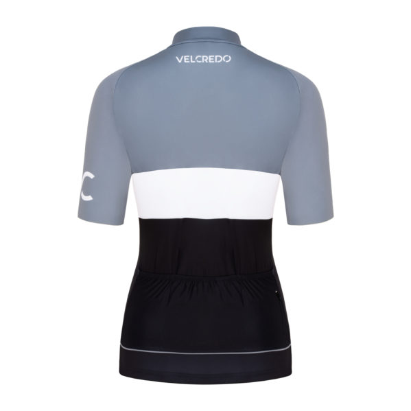 koszulka kolarska damska Evolution Silver