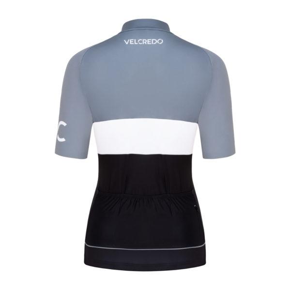 koszulka kolarska damska Evolution Silver Velcredo