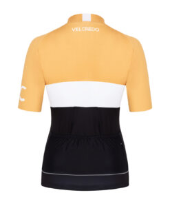 koszulka kolarska damska Evolution Gold