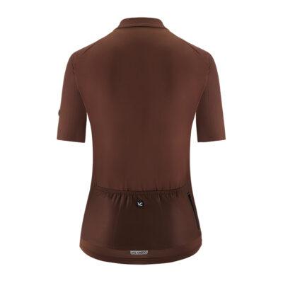 Koszulka kolarska damska PUREBROWN VELCREDO