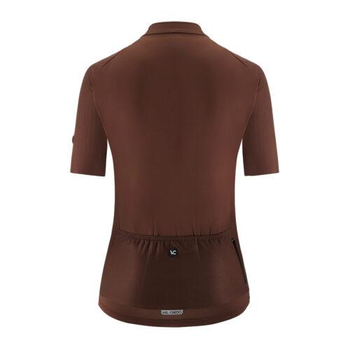 Koszulka kolarska damska EVOLUTION BROWN