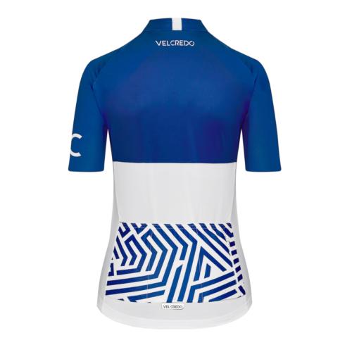 koszulka kolarska damska Ultrablue Velcredo tyl