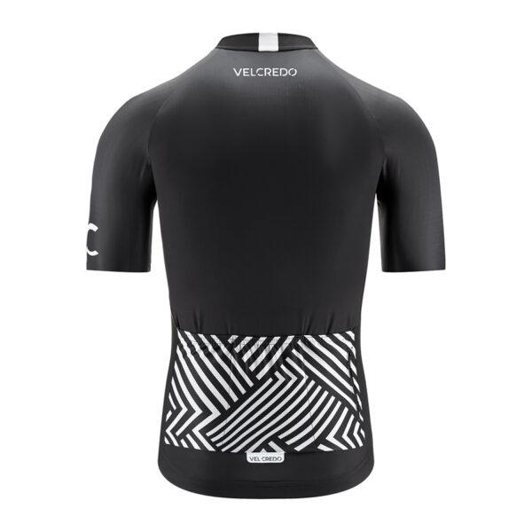 koszulka kolarska męska BLACK Velcredo