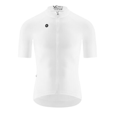 Cycling jersey man PUREWHITE