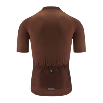 Cycling jersey man brown VELCREDO