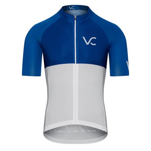koszulka kolarska meska cycling jersey Ultrablue Velcredo