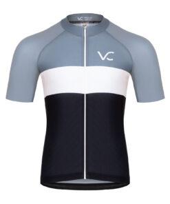 koszulka kolarska męska Evolution Silver
