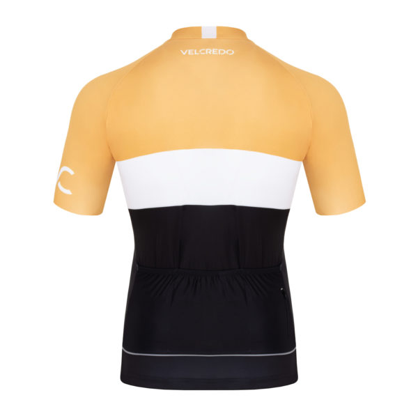 koszulka kolarska męska Evolution Gold Velcredo