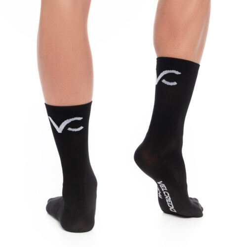 skarpetki kolarskie czarne Velcredo