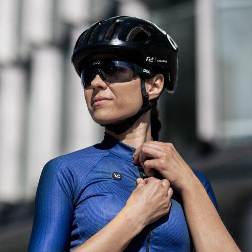koszulka kolarska damska EVOLUTION BLUE